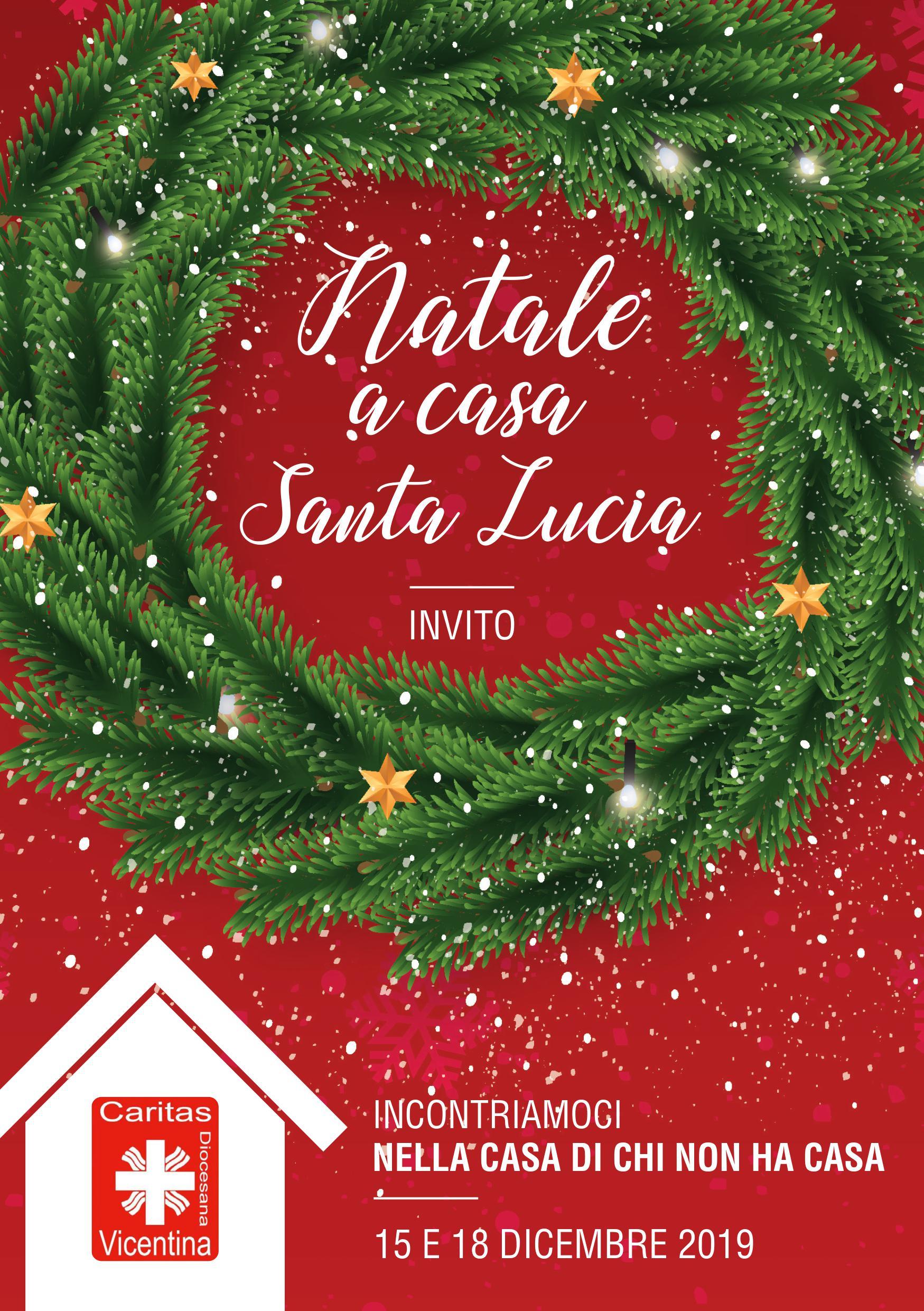 Natale a Casa Santa Lucia