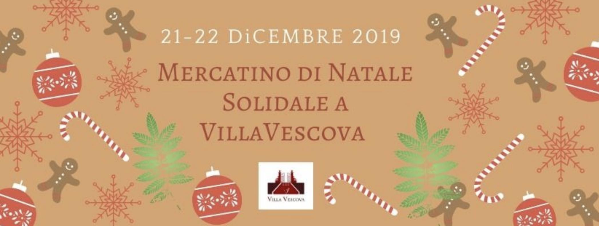 Mercatino di Natale solidale a Villa Vescova