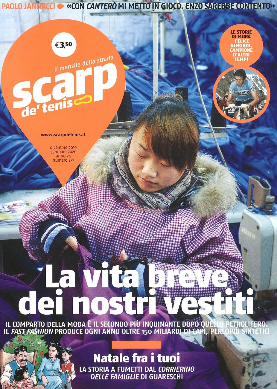 Scarp de' Tenis, uscito il numero di dicembre