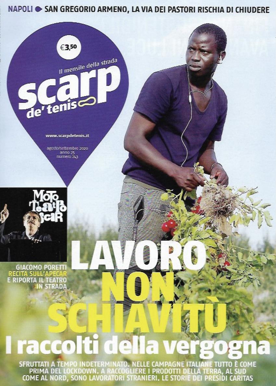 È uscito il numero di agosto e settembre di Scarp de' Tenis. E la redazione di Vicenza sta lavorando ad un nuovo reading