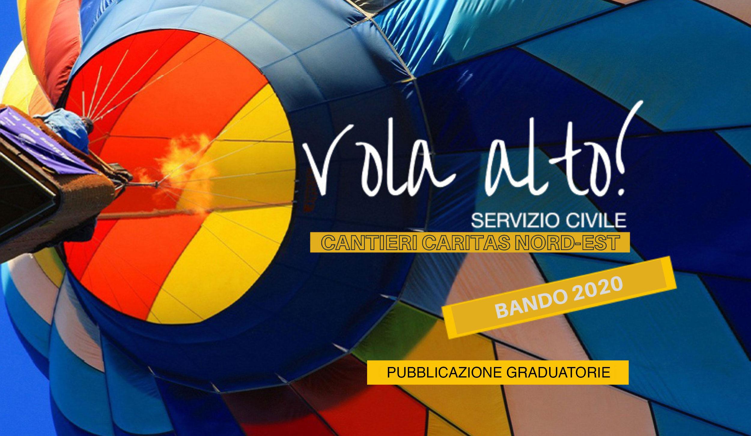 Servizio Civile Universale, pubblicazione delle graduatorie
