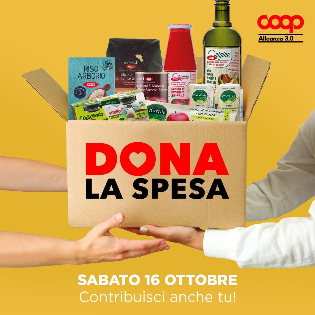 "Torna ""Dona la spesa"", la raccolta alla Coop di Vicenza"
